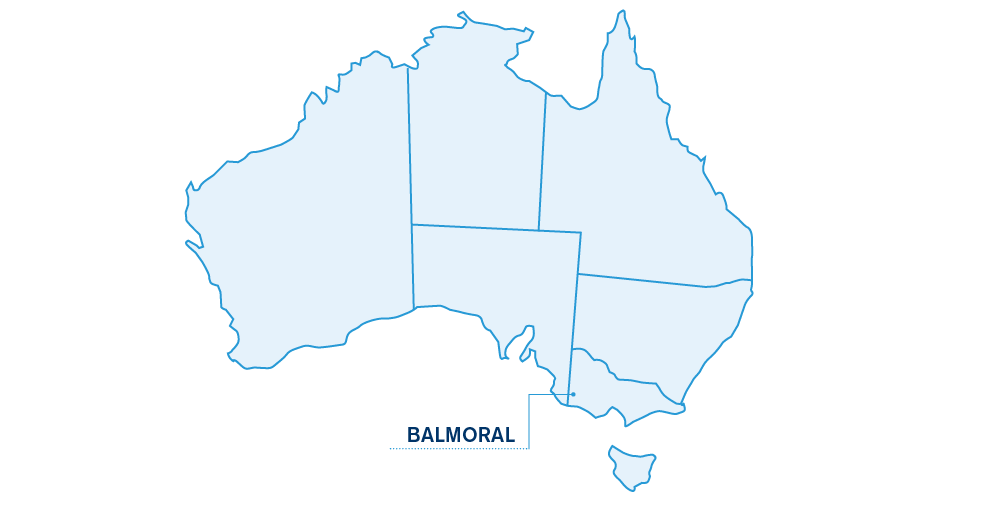 Balmoral/location/map/merino/superior/sires